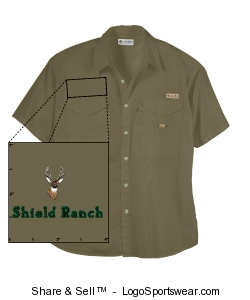 Bonehead Shortsleeve Fishing Shirt Design Zoom